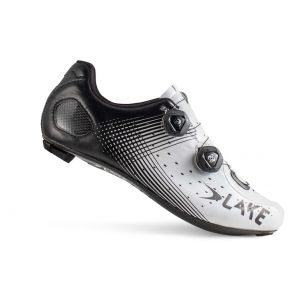 LAKE CX 237 Road Shoe White/Black 39.5