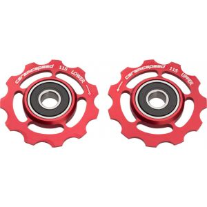 CeramicSpeed Pulley Wheels Shimano 11 Speed Red
