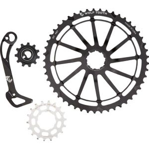 Wolf Tooth Components WolfCage Combo Pack:49T/18T Cog/Cage- SGS