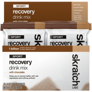 Skratch Labs Sports Recovery Drink Mix: Chocolate Box of 10