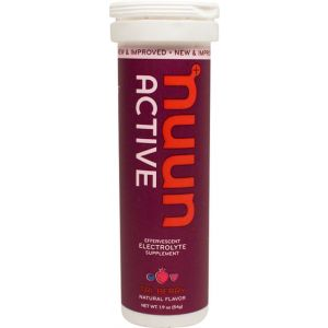 Nuun Active Hydration Tablets: Tri Berry Box of 8 Tubes