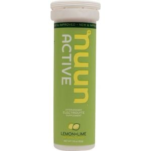 Nuun Active Hydration Tablets: Lemon Lime Box of 8 Tubes
