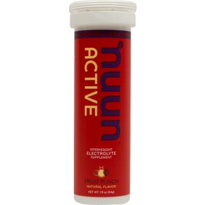 Nuun Active Hydration Tablets: Fruit Punch Box of 8 Tubes