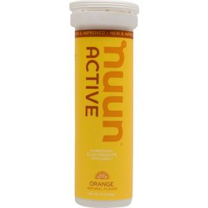 Nuun Active Hydration Tablets: Orange Box of 8 Tubes