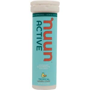 Nuun Active Hydration Tablets: Tropical Fruit Box of 8 Tubes