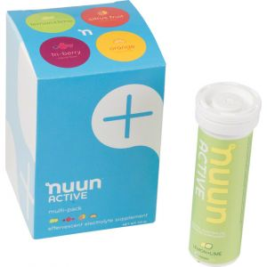 Nuun Active Hydration Tablets: Original Mixed Pack Box of 4 Tubes