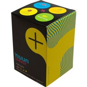Nuun Energy Hydration Tablets: Mixed Pack Box of 4 Tubes