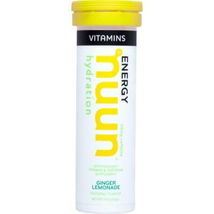 Nuun Vitamin Hydration Tablets: Ginger Lemonade with Caffeine Box of 8