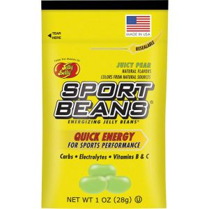 Jelly Belly Sport Beans: Juicy Pear Box of 24