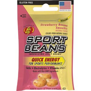 Jelly Belly Sport Beans: Strawberry Banana Smoothie Box of 24