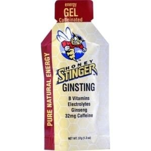 Honey Stinger Energy Gel: Ginsting Box of 24