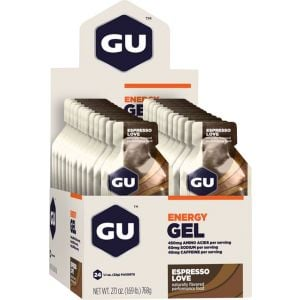 GU Energy Gel: Espresso Love Box of 24
