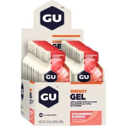 GU Energy Gel: Strawberry/Banana Box of 24