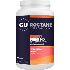 GU Roctane Energy Drink Mix: Tropical 24 Serving Canister