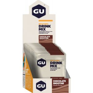 GU Recovery Drink Mix: Chocolate Smoothie, 12 Pack