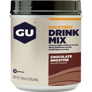 GU Recovery Drink Mix: Chocolate Smoothie 15 Serving Canister
