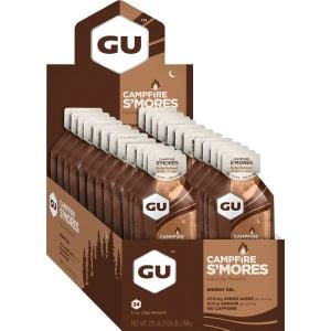 GU Energy Gel: Campfire S'mores, Box of 24