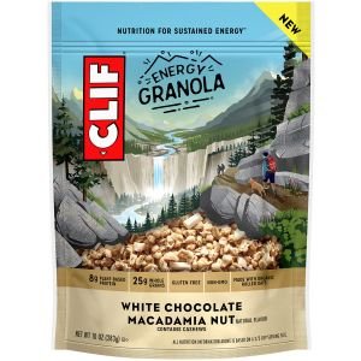 CLIF Energy Granola White Chocolate Macadamia Nut 10oz Bag