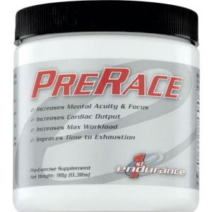 First Endurance PreRace Drink Mix: Unflavored 20 Serving Canister