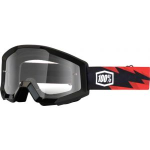 100% Strata Goggle Slash with Clear Lens