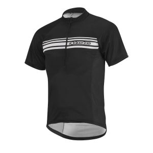 Alpinestars Mens Lunar Short Sleeve Cycling Jersey Black/White S