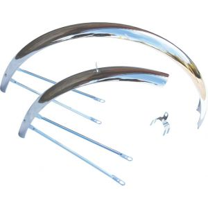 Wald Middleweight 952 Fender Set 26x1.5 - 1.75 Wheel Chrome