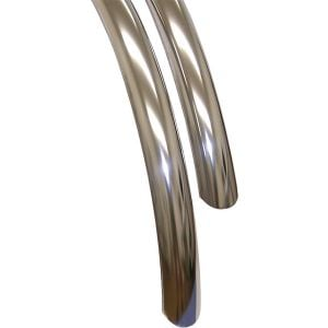 Velo Orange 700c Stainless Steel Fender Set Stainless Steel 45mm