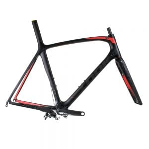 LOOK 695 Aerolight Frameset Black/Red