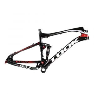 Look 927 Carbon/White Frame: Large, 120mm Travel