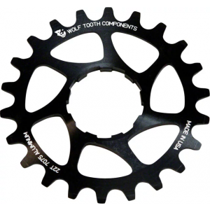 Wolf Tooth Components Single Speed Aluminum Cog 20T Compatible with 3/32