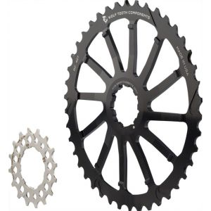 Wolf Tooth Components GC 42 Cog and 16T Cog Bundle: For SRAM 11-36 10-
