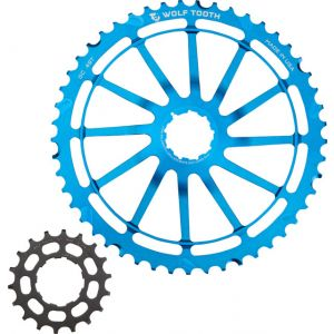 Wolf Tooth Components GC49 49T + 18T Cogs For SRAM NX Cassettes