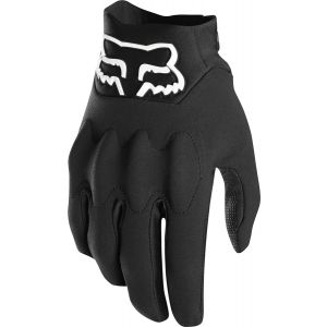 Fox Racing Attack Fire Men's Full Finger Glove: Black LG