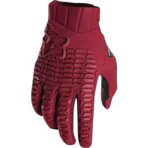Fox Racing Sidewinder Men's Full Finger Glove: Cardinal SM