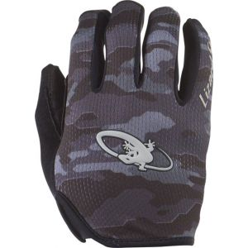 Lizard Skins Monitor Gloves: Black Camo LG