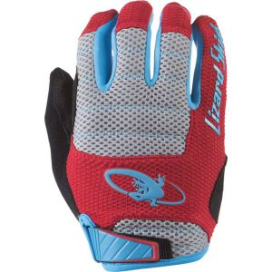 Lizard Skins Monitor AM Gloves: Crimson/Electric Blue 2XL