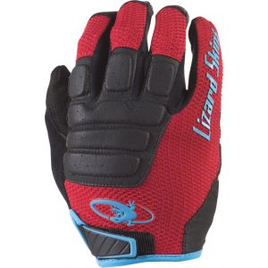 Lizard Skins Monitor HD Gloves: Crimson/Black SM