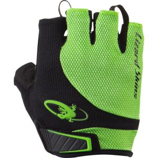 Lizard Skins Aramus Elite Gloves: Jet Black/Lime XL