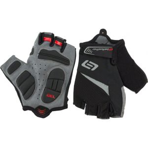 Bellwether Ergo Gel Men's Short Finger Glove: Black 2XL