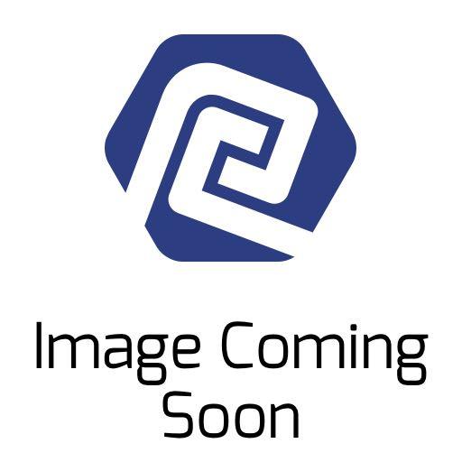 100% Ridefit Full Finger Glove: Black/White SM