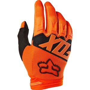 Fox Racing Dirtpaw Men's Full Finger Glove: Orange/Black MD