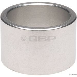 Wheels Manufacturing 20mm 1 Headset Spacer Silver Each