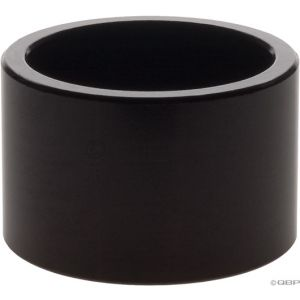 Wheels Manufacturing 20mm 1 Headset Spacer Black Each