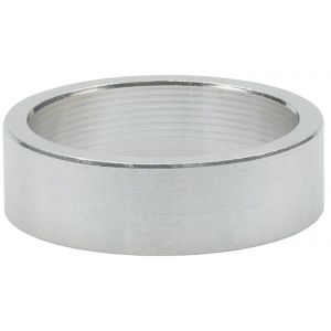 Wheels Manufacturing 10mm 1-1/8 Headset Spacer Silver Bag/5