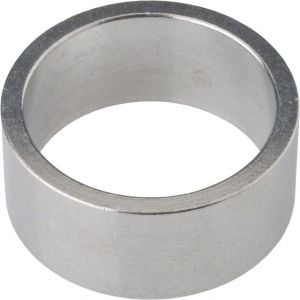 Wheels Manufacturing 15mm 1-1/8 Headset Spacer Silver Each
