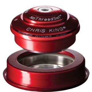 Chris King InSet 2 Headset 1 1/8-1.5 44/56mm Red