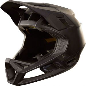 Fox Racing Proframe Full Face Helmet: Matte Black LG