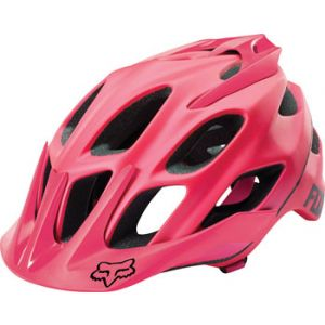 Fox Racing Flux Helmet: Pink SM/MD