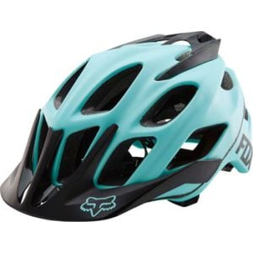 Fox Racing Flux Helmet: Ice Blue SM/MD