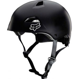 Fox Racing Flight Sport Helmet: Black MD